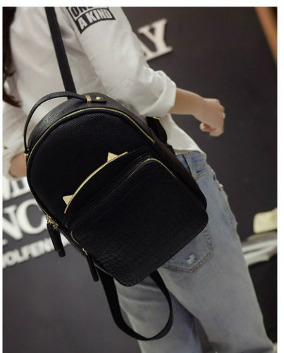 B2076 IDR.163.000 MATERIAL PU SIZE L24XH29XW13CM WEIGHT 750GR COLOR BLACK