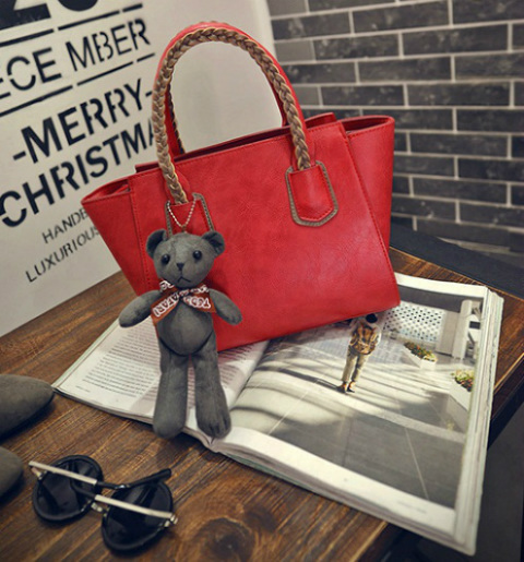 B2088 IDR.182.000 MATERIAL PU SIZE L25-33XH20XW14CM WEIGHT 750GR COLOR RED