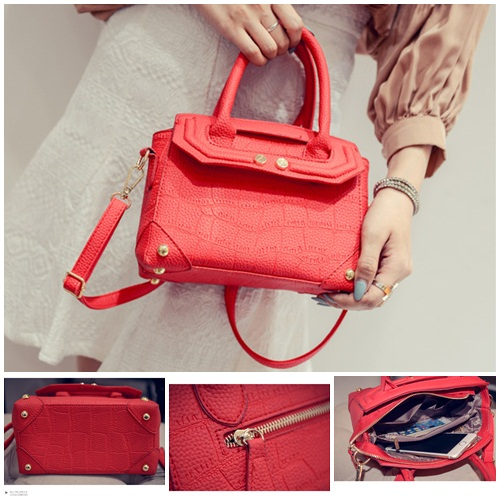 B2093 IDR.180.000 MATERIAL PU SIZE L21XH16XW11CM WEIGHT 700GR COLOR RED