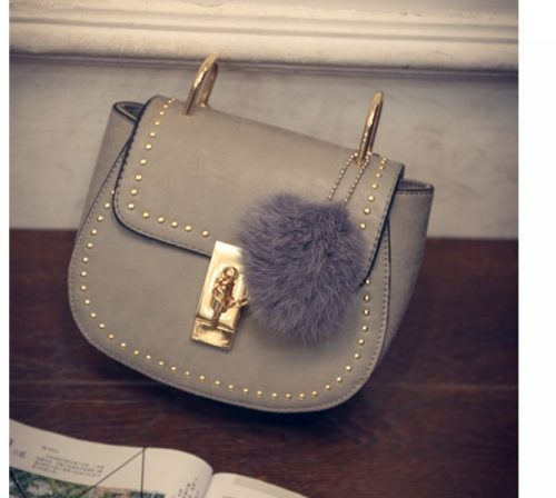 B2101 IDR.155.000 MATERIAL PU SIZE L17XH15XW7CM WEIGHT 550GR COLOR GRAY