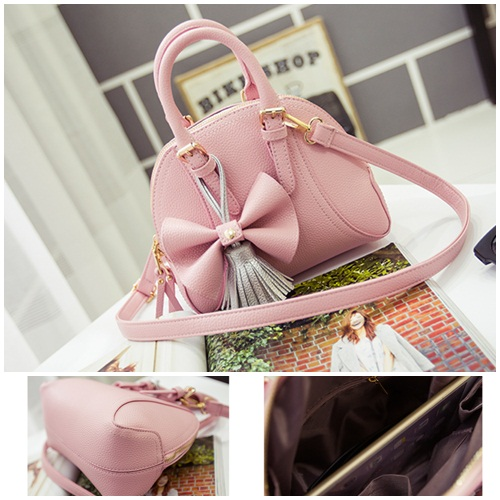 B2127 IDR.165.000 MATERIAL PU SIZE L22XH18XW12CM WEIGHT 650GR COLOR PINK