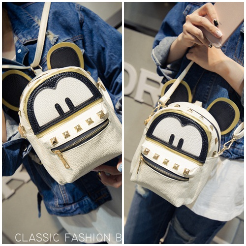 B21643 - Harga Katalog / sebelum Diskon Rp. 143.000 MATERIAL PU SIZE L19XH17XW10CM WEIGHT 400GR COLOR BEIGE