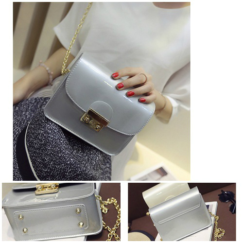B2171 IDR.152.000 MATERIAL PU SIZE L17XH14XW8CM WEIGHT 500GR COLOR SILVER