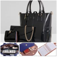 B2172 (3in1) - Harga sebelum Diskon IDR.238.000 MATERIAL PU SIZE L29XH26XW13CM WEIGHT 1300GR COLOR BLACK