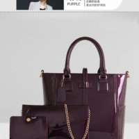 B2172 (3in1) - Harga sebelum Diskon IDR.238.000 MATERIAL PU SIZE L29XH26XW13CM WEIGHT 1300GR COLOR PURPLE