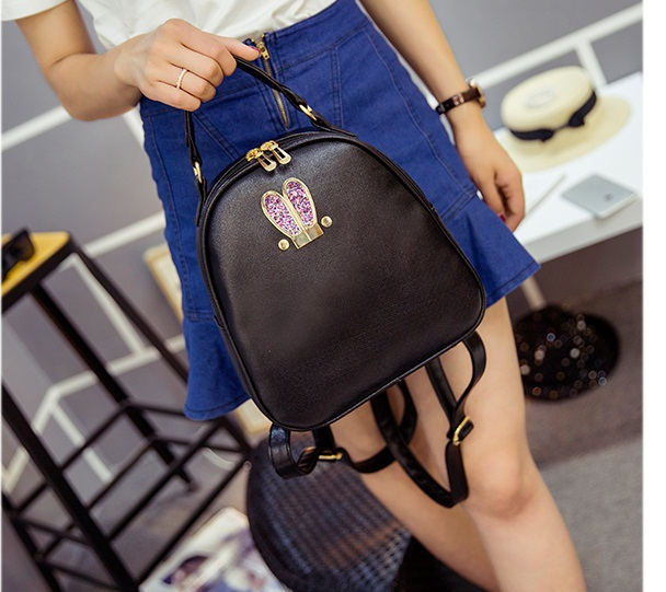 B2226 IDR.152.000 MATERIAL PU SIZE L24XH25XW10CM WEIGHT 600GR COLOR BLACK