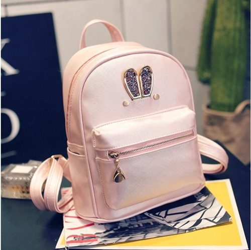 B2226 MATERIAL PU SIZE L24XH25XW10CM WEIGHT 600GR COLOR PINK