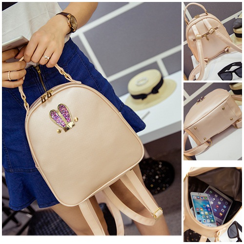 B2226 IDR.152.000 MATERIAL PU SIZE L24XH25XW10CM WEIGHT 600GR COLOR PINK