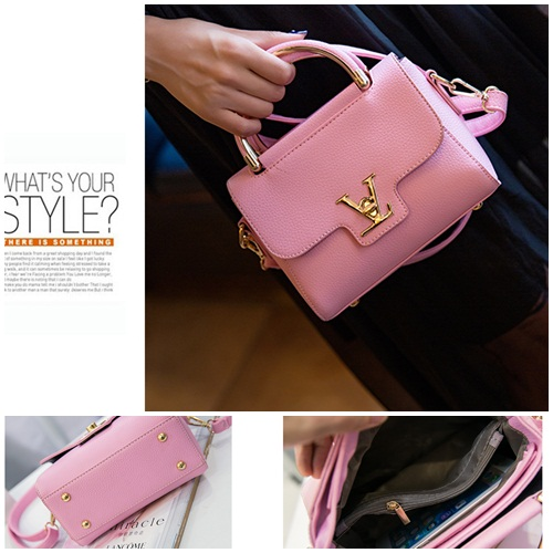 B2299 MATERIAL PU SIZE L20XH16XW7CM WEIGHT 600GR COLOR PINK