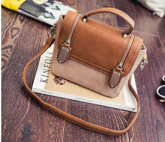 B2301 IDR.173.000 MATERIAL PU SIZE L19XH16XW9CM WEIGHT 600GR COLOR BROWN