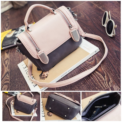 B2301 IDR.173.000 MATERIAL PU SIZE L19XH16XW9CM WEIGHT 600GR COLOR PINK