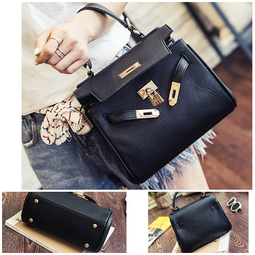 B2317 IDR.173.000 MATERIAL PU SIZE L21XH19XW9CM WEIGHT 650GR COLOR BLACK