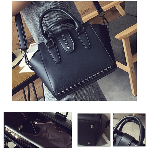 B2322 IDR.180.000 MATERIAL PU SIZE L22XH20XW13CM WEIGHT 700GR COLOR BLACK