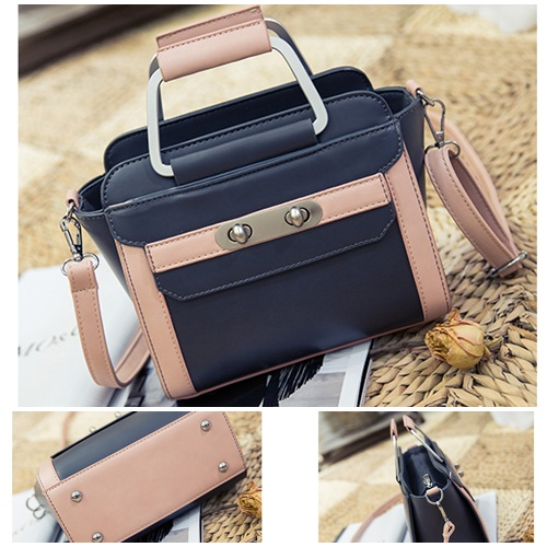 B2324 IDR.179.000 MATERIAL PU SIZE L20XH19XW9CM WEIGHT 700GR COLOR DARKBLUE