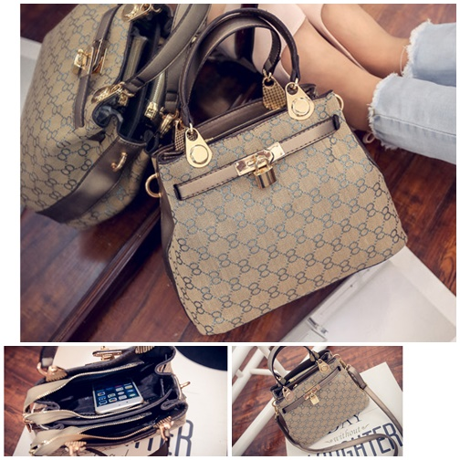 B2408 IDR.206.000 MATERIAL CANVAS SIZE L26XH20XW12CM WEIGHT 650GR COLOR GOLD