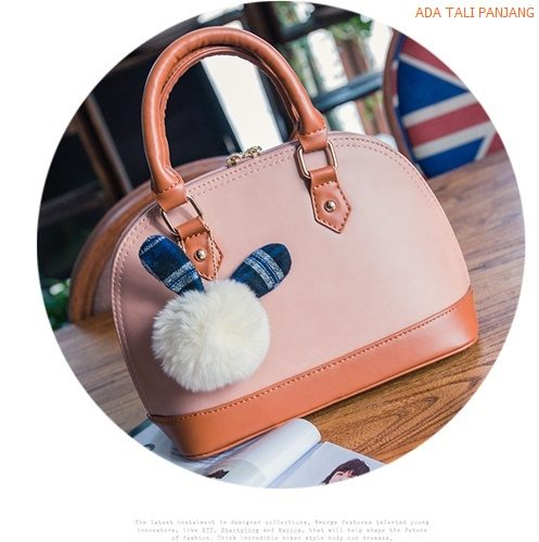 B2438 MATERIAL PU SIZE L26XH20XW13CM WEIGHT 700GR COLOR PINK