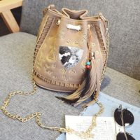 B2450 MATERIAL PU SIZE L20XH22XW14CM WEIGHT 600GR COLOR BROWN