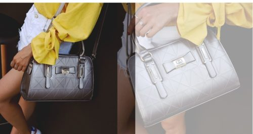 B2457 - Harga Katalog / sebelum Diskon Rp. 170.000 MATERIAL PU SIZE L31XH22XW13CM WEIGHT 800GR COLOR SILVER