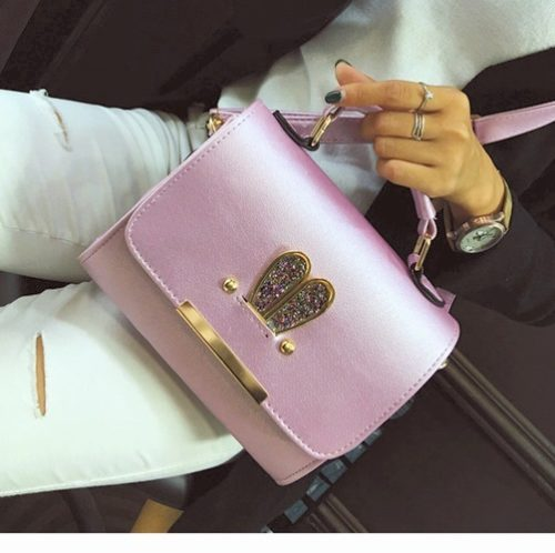 B2552  MATERIAL PU SIZE L20XH17XW9CM WEIGHT 500GR COLOR PURPLE