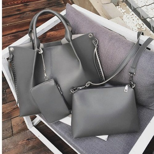 B2633 3in1 MATERIAL PU SIZE L49XH30XW10CM WEIGHT 1000GR COLOR GRAY