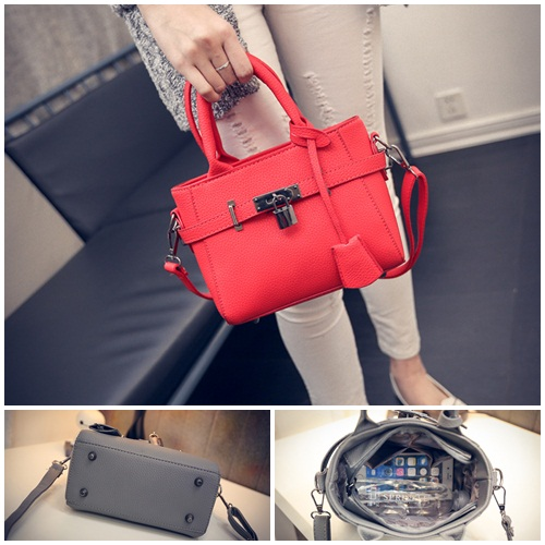 B27003 IDR.162.000 MATERIAL PU SIZE L23XH17XW9CM WEIGHT 600GR COLOR RED