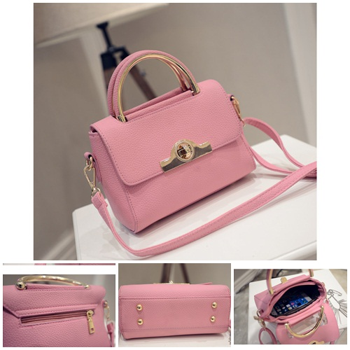 B27004 IDR.169.000 MATERIAL PU SIZE L20XH16XW9CM WEIGHT 700GR COLOR PINK