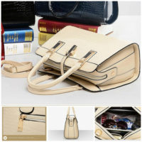 B2702 MATERIAL PU SIZE L33XH25XW15CM WEIGHT 900GR COLOR BEIGE