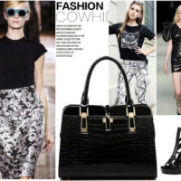 B2702 MATERIAL PU SIZE L33XH25XW15CM WEIGHT 900GR COLOR BLACK