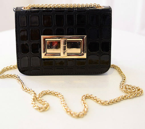 B2707 IDR.150.000 MATERIAL PU SIZE L17XH12XW5CM WEIGHT 450GR COLOR BLACK
