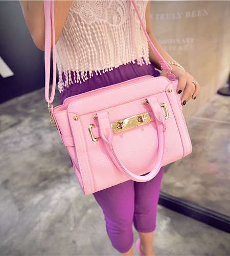 B2709 IDR.182.000 TAS FASHION MATERIAL PU SIZE L27XH20XW14CM WEIGHT 750GR COLOR PINK