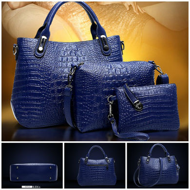 B2712-(3in1) IDR.195.000 MATERIAL PU SIZE L34XH24XW11CM WEIGHT 1000GR COLOR BLUE