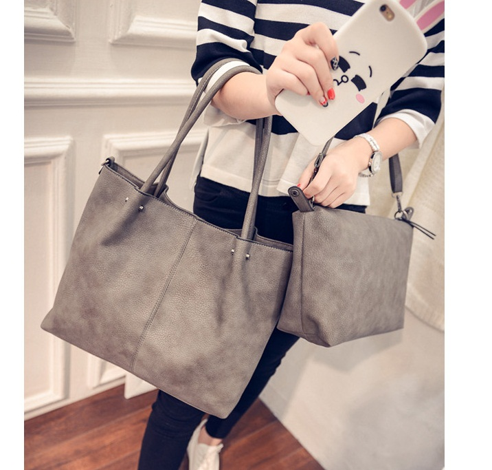 B27128-(2in1) IDR.195.000 MATERIAL PU SIZE L36XH31XW12CM WEIGHT 1000GR COLOR GRAY