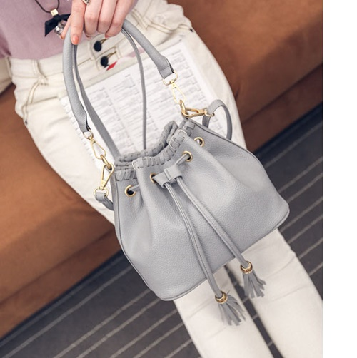 B27196 IDR.155.000 MATERIAL PU SIZE L22XH19XW13CM WEIGHT 500GR COLOR GRAY