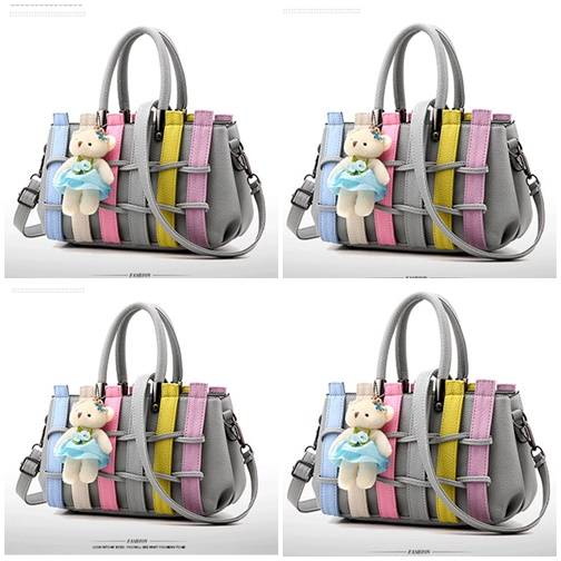 B2725 IDR.182.000 MATERIAL PU SIZE L27XH17XW13CM WEIGHT 850GR COLOR LIGHTGRAY