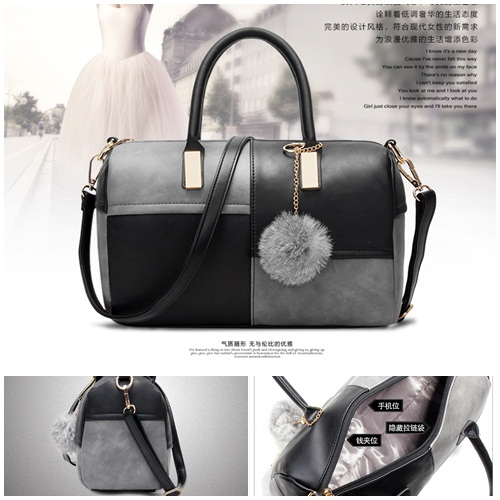 B27260 IDR.143.000 MATERIAL PU SIZE L28XH19XW15CM WEIGHT 550GR COLOR BLACKGRAY