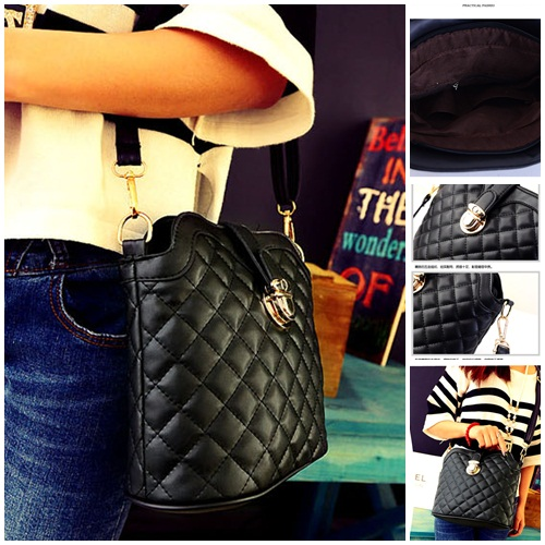 B2728 IDR.132.000 MATERIAL PU SIZE L21XH23XW10CM WEIGHT 400GR COLOR BLACK