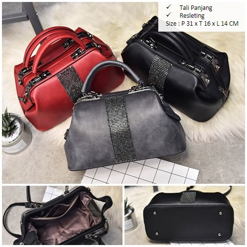 B2741 IDR.180,000 MATERIAL PU SIZE L31XH16XW14CM WEIGHT 1000GR COLOR  GRAY