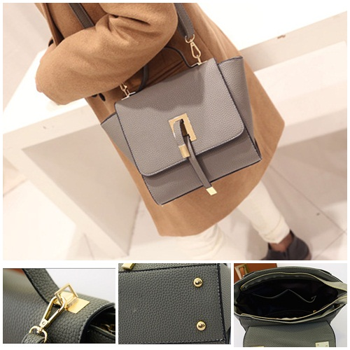 B2746 IDR.163.000 MATERIAL PU SIZE L20-30XH19CMXW13CM WEIGHT 600GR COLOR GRAY