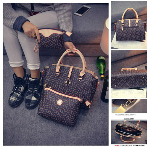 B27516 (3in1) - Harga sebelum Diskon IDR.205.000 MATERIAL PU SIZE L38XH24XW13CM WEIGHT 1000GR COLOR BROWN