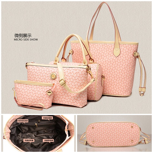 B27555-(4in1) IDR.190.000 MATERIAL PU SIZE L33XH28XW900GR WEIGHT 1200GR COLOR PINK