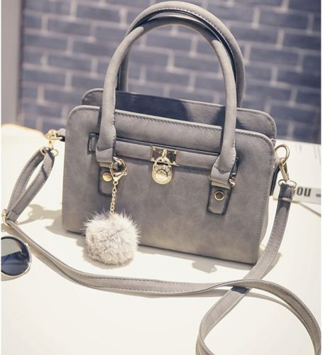 B27555  MATERIAL PU SIZE L27XH19XW10CM WEIGHT 700GR COLOR GRAY