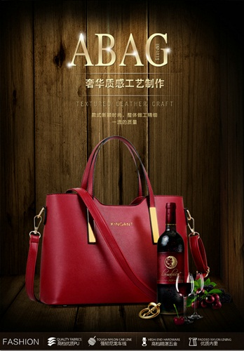 B27566 IDR.163.000 MATERIAL PU SIZE L33XH24XW13CM WEIGHT 750GR COLOR RED