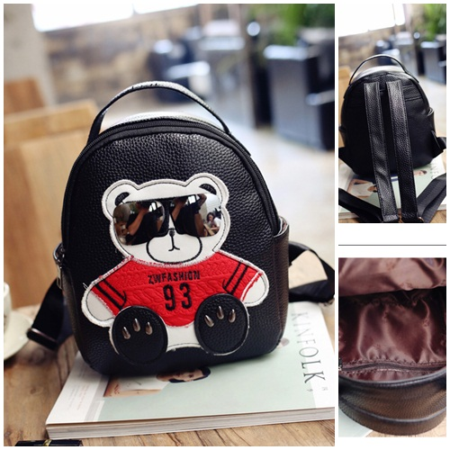 B27601 IDR.149.000 MATERIAL BLACK SIZE L19XH24XW10CM WEIGHT 500GR COLOR BLACK