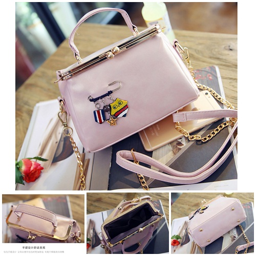 B27625 MATERIAL PU SIZE L21XH10XW5CM WEIGHT 600GR COLOR PINK