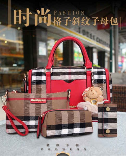 B2765-(4in1) IDR.210.000 MATERIAL CANVAS SIZE L32X20X15CM WEIGHT 1100GR COLOR RED