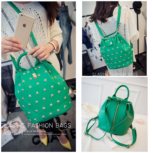 B27901 IDR.165.000 MATERIAL PU SIZE L24XH26XW15CM WEIGHT 800GR COLOR GREEN