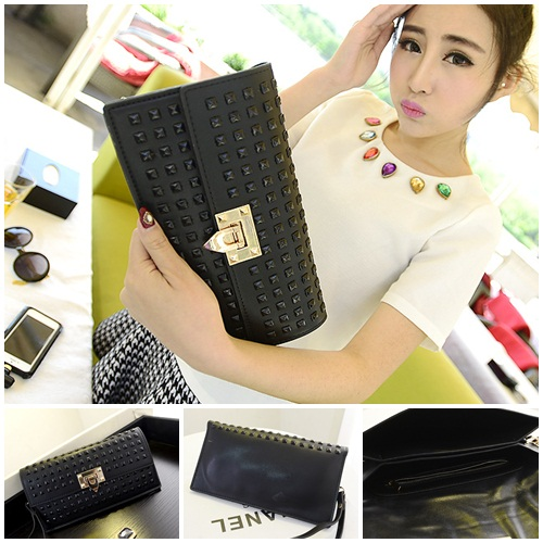 B2793 IDR.159.000 MATERIAL PU SIZE L26XH15CM WEIGHT 550GR COLOR BLACK