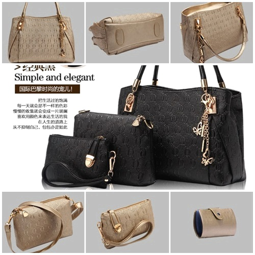 B2798 4in1 MATERIAL PU SIZE L32XH22XW14CM WEIGHT 1300GR COLOR BLACK