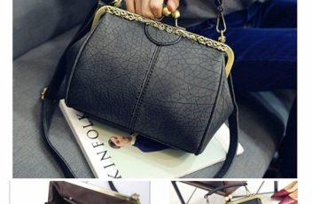 B28312 IDR.155.000 MATERIAL PU SIZE L23XH20XW12CM WEIGHT 550GR COLOR BLACK