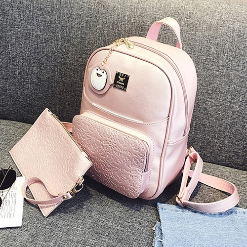 B28569 MATERIAL PU SIZE L23XH30XW12CM WEIGHT 700GR COLOR PINK